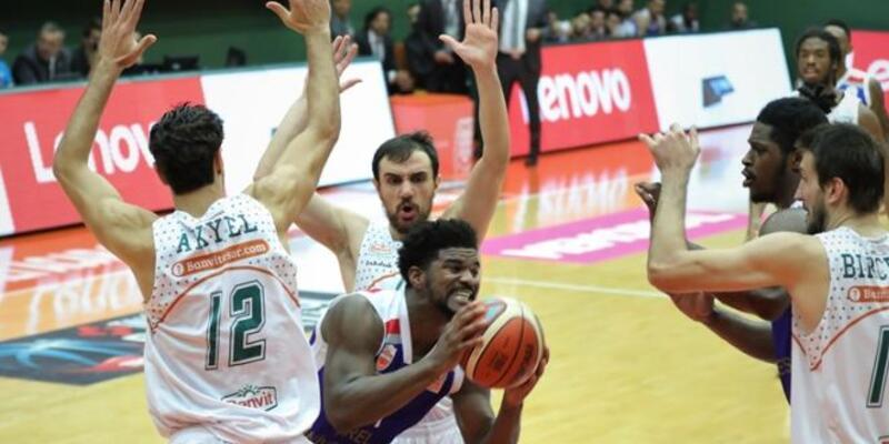 Banvit  - Arel Üniversitesi Büyükçekmece Basketbol: 59-81