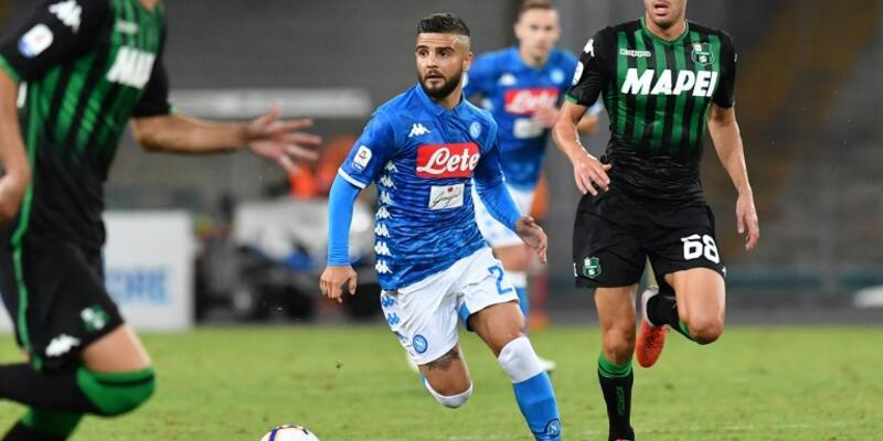 Napoli 2-0 Sassuolo maç sonucu