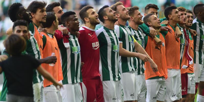 Bursaspor'un 10 maçlık kazanamama serisi sona erdi