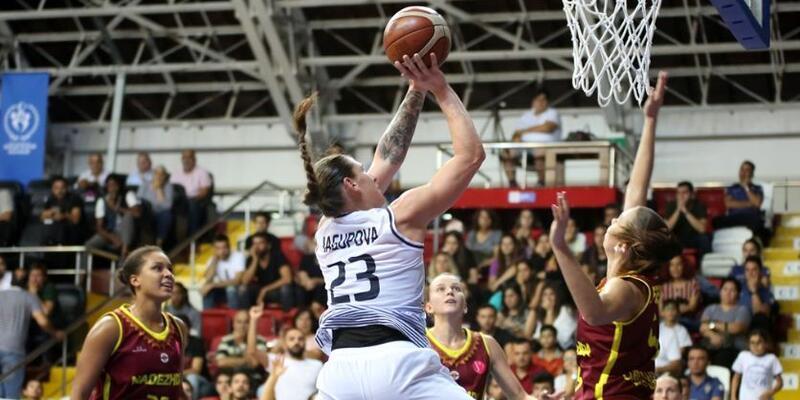 Çukurova Basketbol - Nadezhda: 58-60