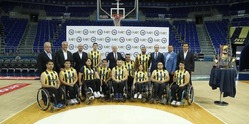 1907 Fenerbahçe Engelli Yıldızlar Takımı'nın lansmanı yapıldı