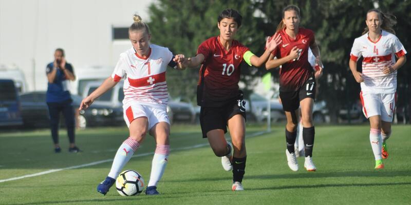 19 Yaş Altı Kadın Milli Futbol Takımı Elit Tur'a yükseldi