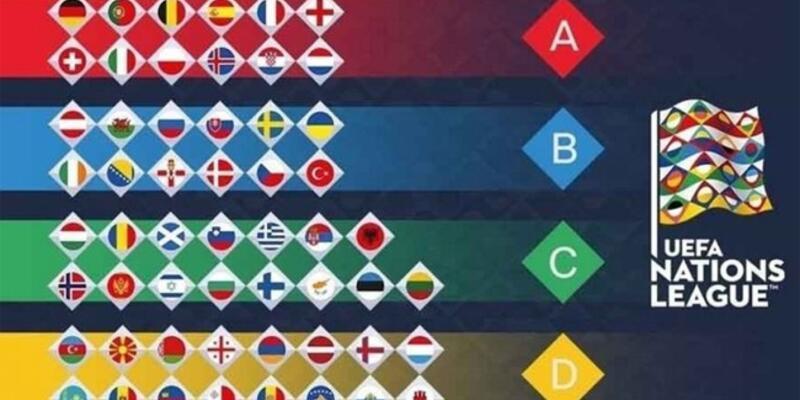 UEFA Uluslar Ligi'nde 23 maç oynanacak