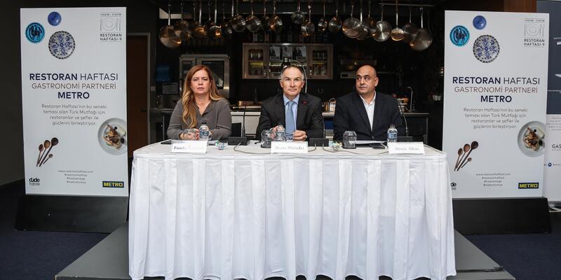 Metro Türkiye, 9'uncu Restoran Haftası'nın gastronomi partneri oldu