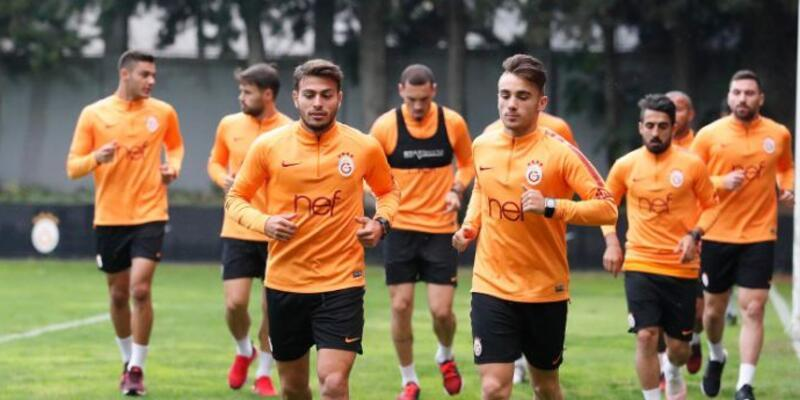 Galatasaray Bursaspor maçı hazırlıklarına başladı