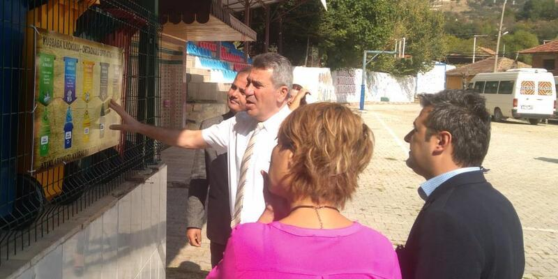 Kaymakam Sezgin'den köy okuluna ziyaret
