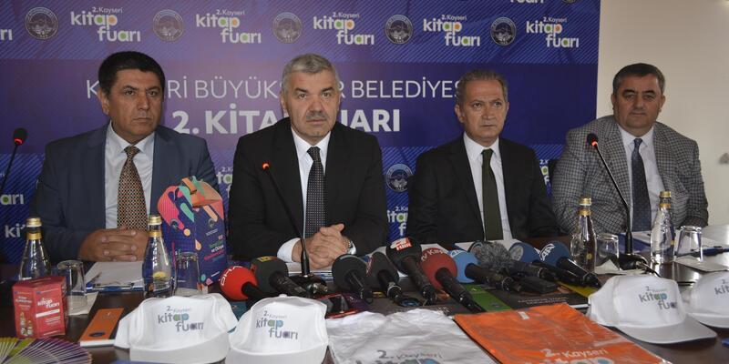 """Başkan Çelik"""" Kayseri'yi en çok okuyan şehir yapmak istiyoruz"""""""