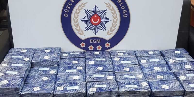 80 kilo eroini İstanbul'a götüren 1'i İranlı kadın, 2 şüpheli tutuklandı