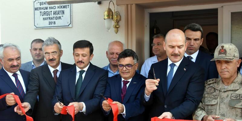 Bakan Soylu, İzmir'de subayların yemin törenine katıldı (2)