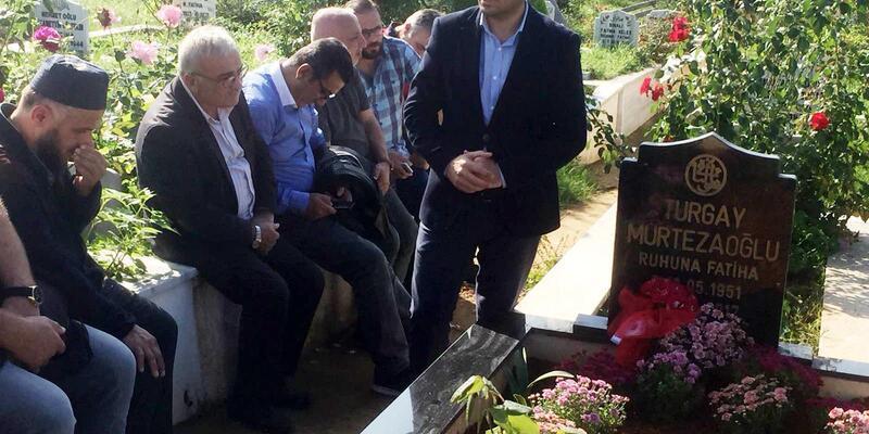 Gazeteci Turgay Murtezaoğlu anıldı