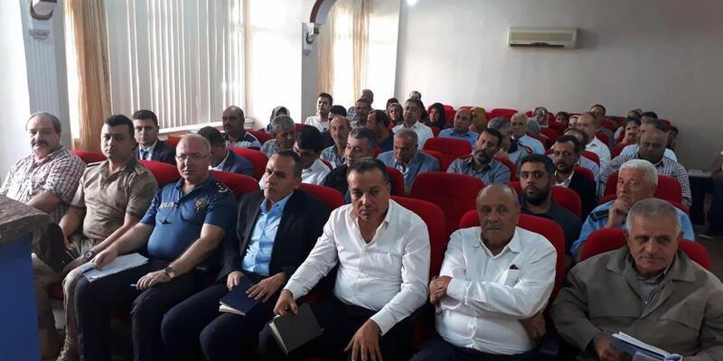 Reyhanlı'da vatandaşla buluşma toplantısı