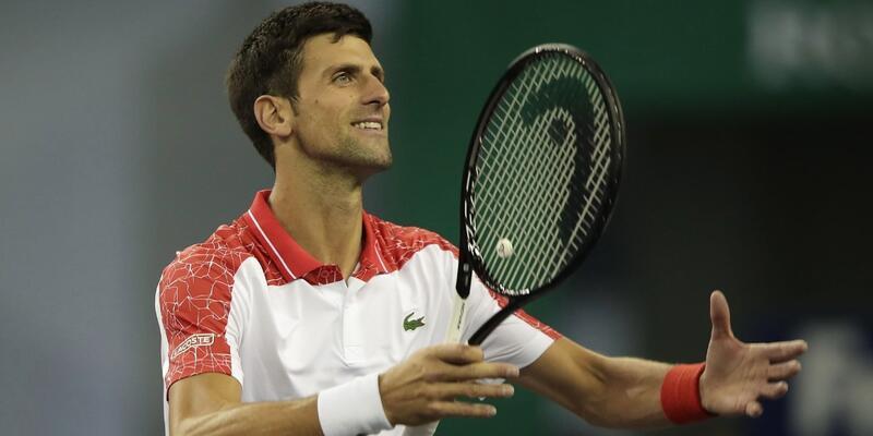 Şanghay'da şampiyon Novak Djokovic