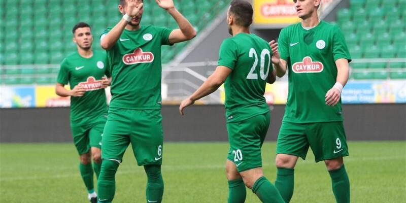 Rizespor 3-1 Dinamo Batumi