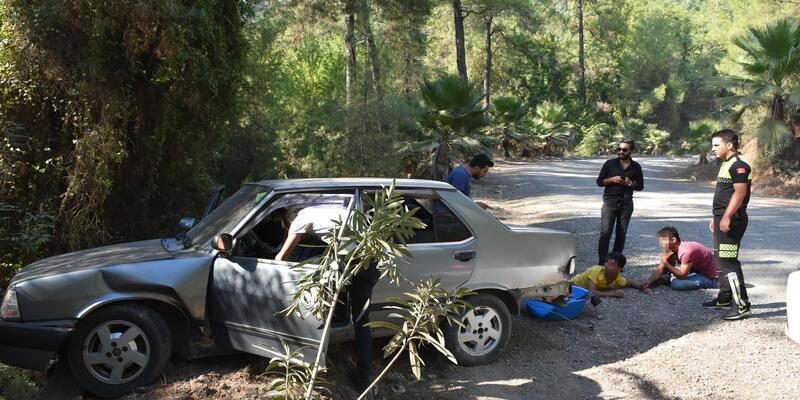 17 yaşındaki sürücü, polislerden kaçarken ortalığı birbirine kattı