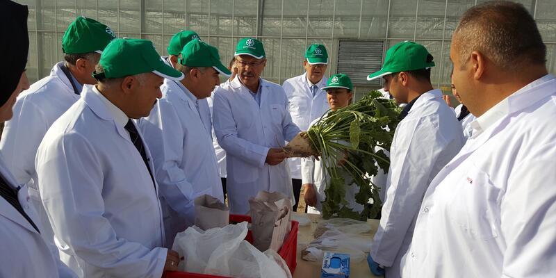 Başkan Akay, şeker pancarı tohum ıslahı derleme çalışmalarına katıldı