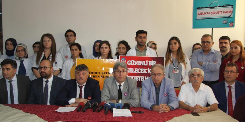 ERÜ'de 3 doktora şiddete tepki