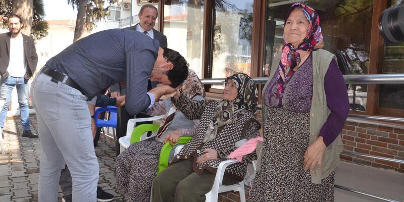 Akhisarspor'dan anlamlı ziyaret