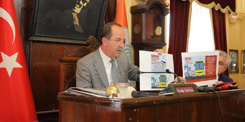 Edirne Belediyesi, toplu ulaşım projesi için anket yaptıracak