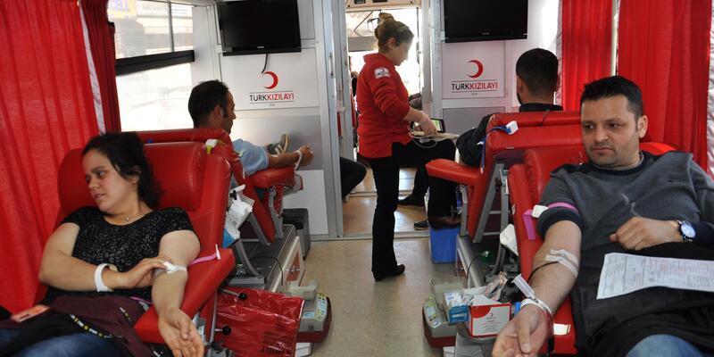 İslahiye ve Nurdağı'nda 170 ünite kan bağışı
