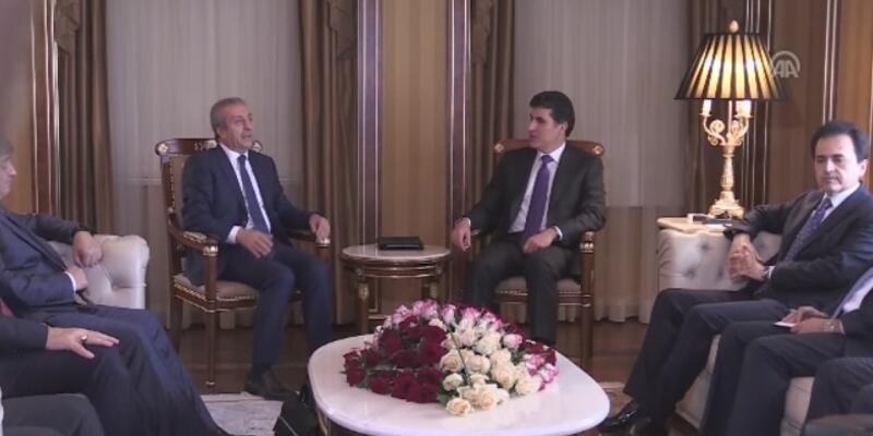 IKBY Başbakanı Barzani Türk heyeti ile görüştü