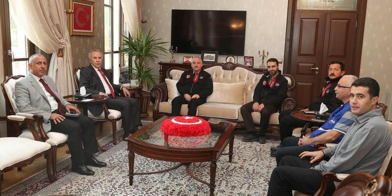 AFAD Başkan Yardımcısı İsmail Palakoğlu Hatay'da