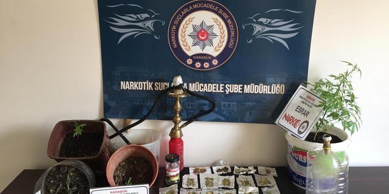 Karabük'te uyuşturucu operasyonu: 2 tutuklama