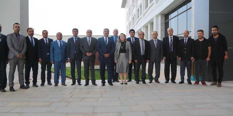 Gürkan'dan,Turgut Özal Üniversitesi'nde inceleme