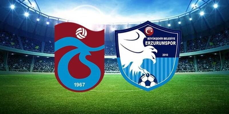 Trabzonspor - BB Erzurumspor maçı muhtemel 11'leri