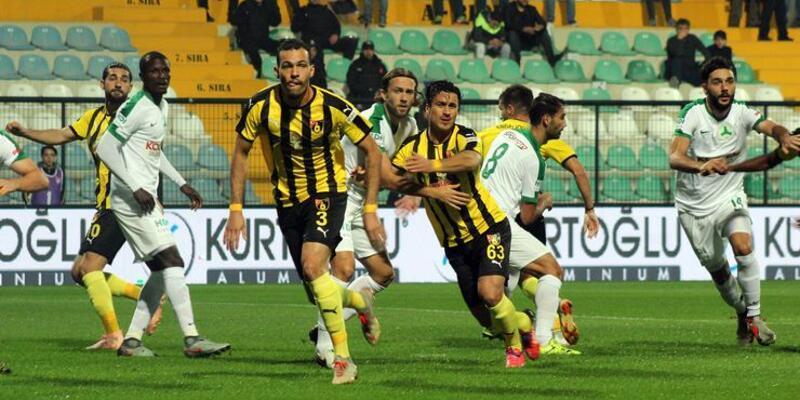 İstanbulspor 3-1 Giresunspor maç sonucu