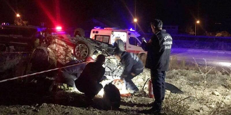 Astsubay kazada hayatını kaybetti