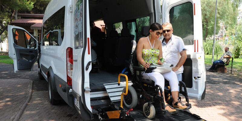 Engelliler özel araç hizmeti