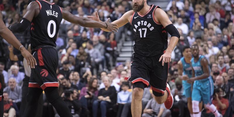 Toronto Raptors4'te 4 yaptı