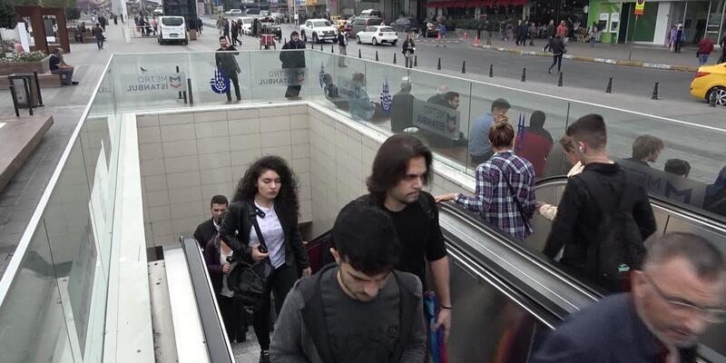 Metro seferlerinde aksama
