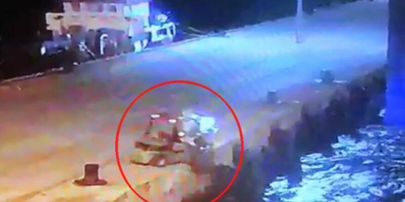 Forklift operatörünün öldüğü kaza güvenlik kamerasında