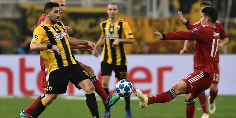 AEK 0-2 Bayern Münih / Maç Özeti