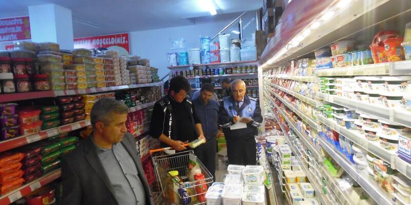 Osmancık'ta marketlerde fiyat denetimi