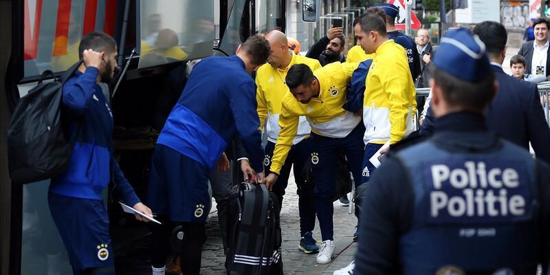 Fenerbahçe Belçika'da
