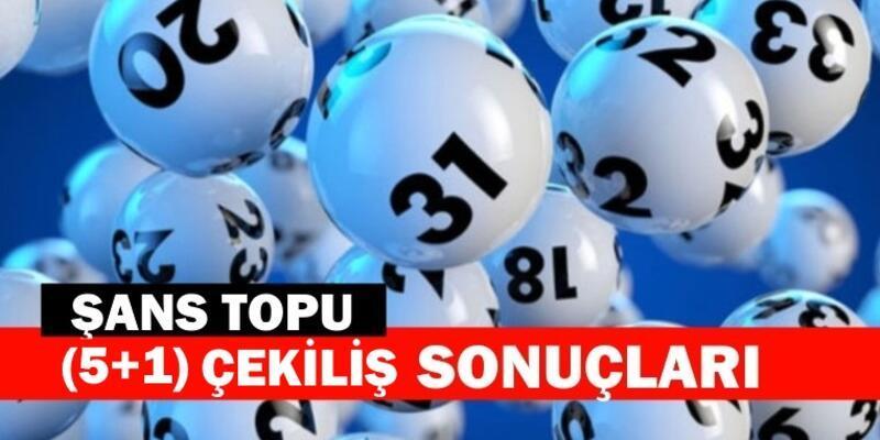 991. hafta Şans Topu sonuçları 10 Haziran 2020... MPİ sonuçları açıkladı!