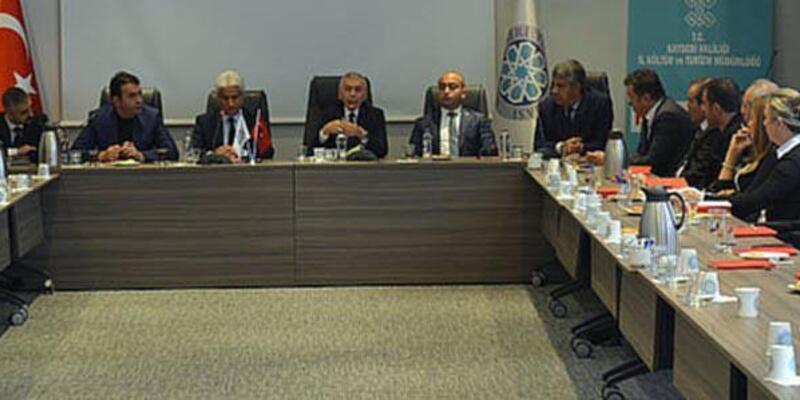 Kayseri'de sağlık turizmi toplantısı yapıldı