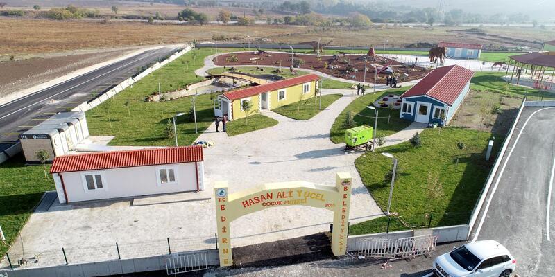 Balkanların gözdesi olacak 'Çocuk Müzesi' Edirne'de kuruldu