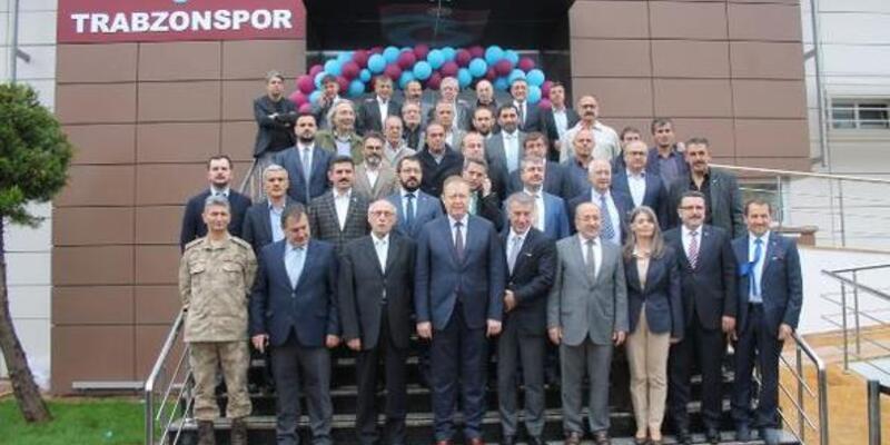 Trabzonspor'un yenilenen tesisleri açıldı