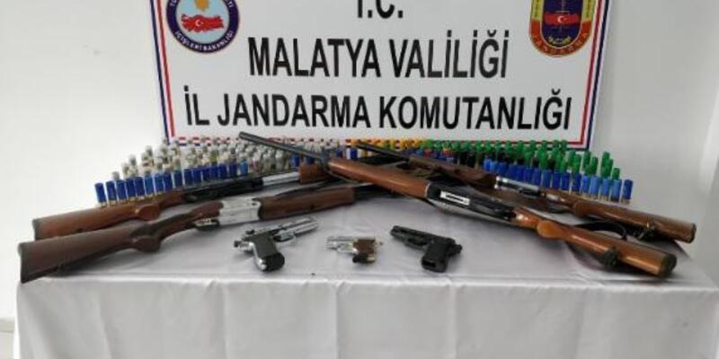 Malatya'da silah kaçakçılığına 3 gözaltı