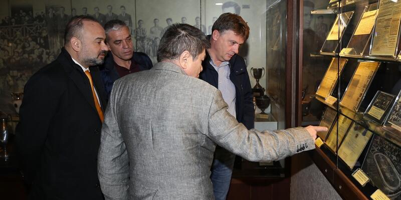 Fenerbahçe'ye Üsküp'ten ziyaretçi