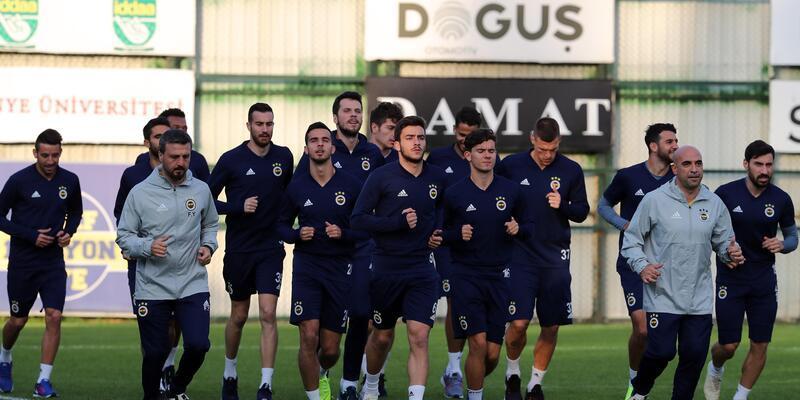 Fenerbahçe'de MKE Ankaragücü hazırlıkları başladı