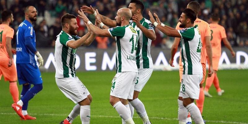 Bursaspor 2-0 Alanyaspor / Süper Lig Maç Özeti
