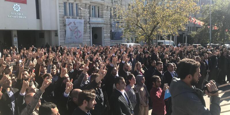 """Beyoğlu'nda """"Andımız"""" eylemi"""
