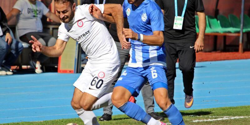 Zonguldak Kömürspor - Tuzlaspor: 1-1