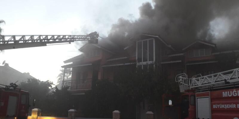 Ortaca'da otelde yangın (2)