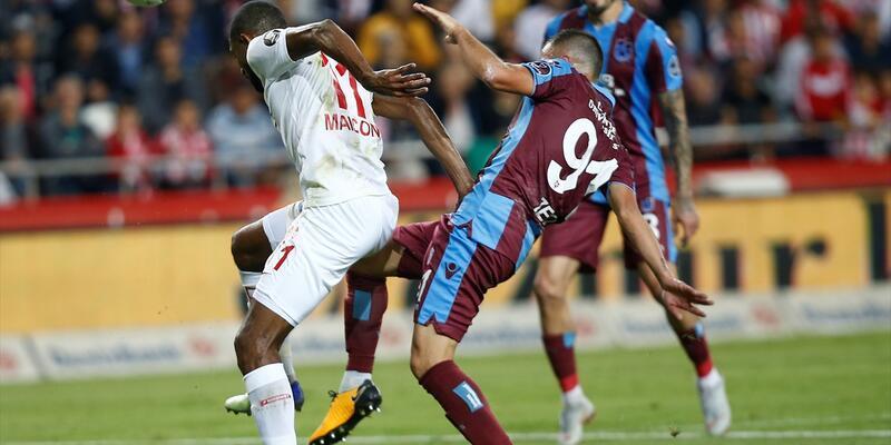 Antalyaspor 1-1 Trabzonspor / Maç özeti
