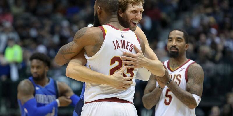 LeBron James, Dirk Nowitzki'yi geride bıraktı